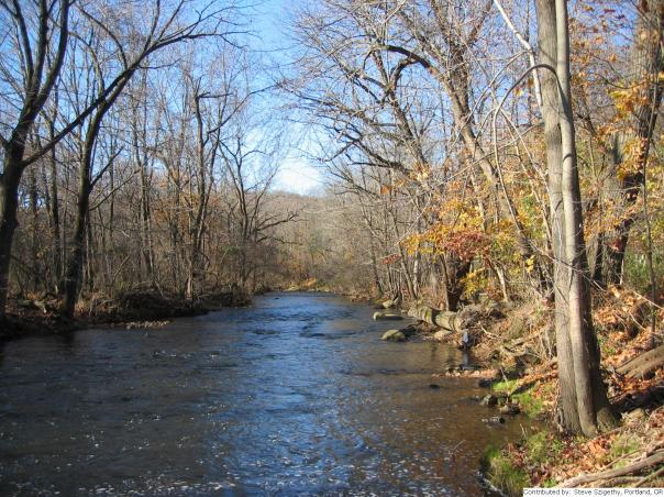 Saucon Creek near Hellertown Northampton