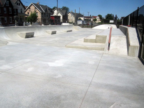 New Skatepark in Bethlehem (2/2)