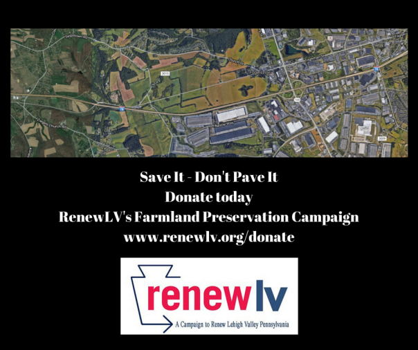 Save It - Don't Pave ItDonate today to Farmland Preservation Campaign at